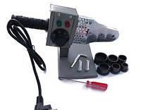 Паяльник для труб PP-R и PE, с насадками Ø 20-32, 800Вт, (220В/50Гц)