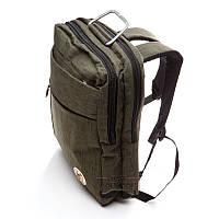 Рюкзак - сумка серый