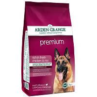 Arden Grange ADULT DOG Premium 2 кг - корм для привередливых собак