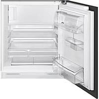 Встраиваемый холодильник с морозильником Smeg UD7122CSP монтаж под столешницу