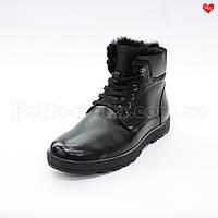 Мужские высокие ботинки на манке Lido Marinozzi
