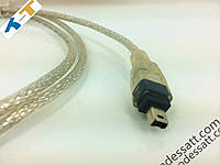 Компьютерный кабель TT   Usb2.0 Кабель FireWire 1394 4Pin/6Pin  1.5M В Донецк