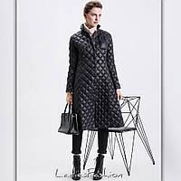 Тёплое пальто на синтепоне 150й плотности. Расцветки чёрный,бордовый,шоколад ал №08329