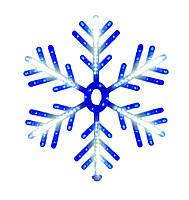 """Новогодняя подвеска """"Снежинка"""" 168 LED SMD, Диаметр 60 см"""