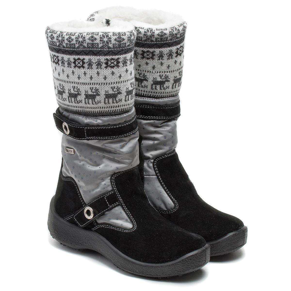 Зимние мембранные сапожки Kapika, для девочки, размер 30 - 37,5