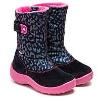Мембранные ботинки Флоаре (Kapika) зимние, для девочки, размер 27-32 *, фото 1