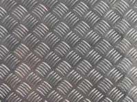 Лист алюминиевый рифленый квинтет АД0 АД31