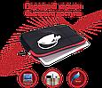 """Чехол для ноутбука Promate Zipper-S 12"""" Black, фото 5"""