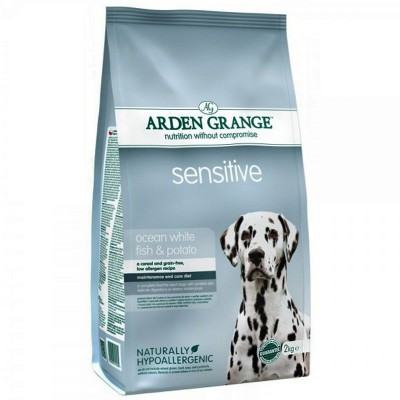 Arden Grange ADULT DOG Sensitive 2 кг - корм для чувствительных собак