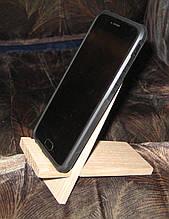 Подставка под телефон дуб