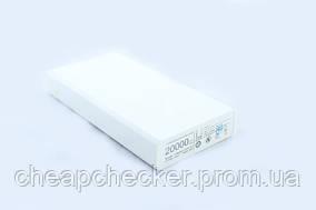 Внешний Портативный Аккумулятор Power Bank Повербанк M6 20000 мАh Резервный Аккумулятор для Мобильного