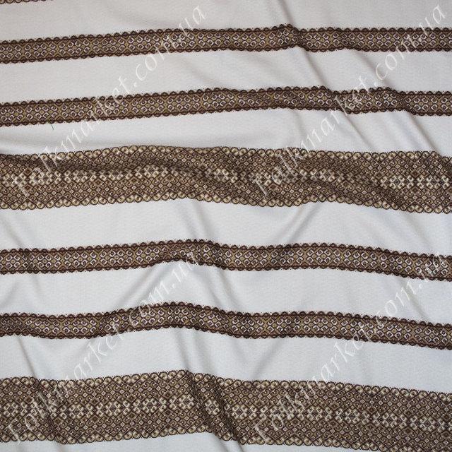 Ткань с украинской вышивкой Говерла ТДК-55 2/3