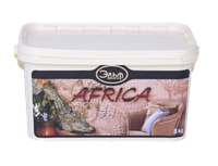 Декоративная штукатурка Эльф-Декор AFRICA 8кг - Декоративное покрытие с имитацией кожи крокодила