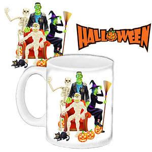 Кружка c принтом Хеллоуин Halloween