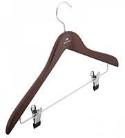Вешалка для костюмов с прищепками на металлической перекладине Granchio 88907