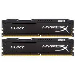 Модуль памяти DDR4 2x16GB/2400 Kingston HyperX Fury Black (HX424C15FBK2/32)