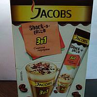 Кофейный напиток Якобс 3в1 Шоко Латте 24 стика по 12.5г / блок