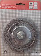 Щетка по металлу дисковая 75*6 гофрированая