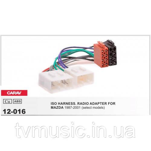 ISO переходник CARAV 12-016 (Mazda)