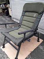 Кресло карповое с подставкой для ног Carp Elektrostatyk FK6+POD.Возможен самовывоз в Киеве