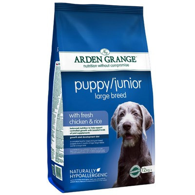 Arden Grange Puppy & Junior Large Breed 12 кг – сухой корм для щенков и молодых собак