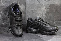 Зимние кроссовки Nike 95, чёрные