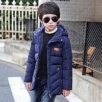 Зимняя стёганая куртка для мальчика