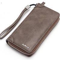 Клатч портмоне Baellerry коричневый 838L_Brown