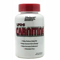 Nutrex Lipo 6 Carnitine 120 liquid-caps