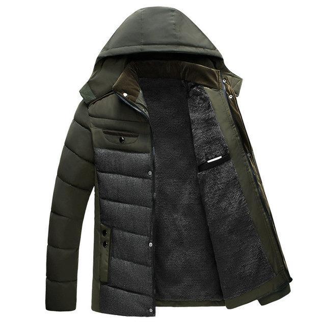 Мужская зимняя куртка СС7840