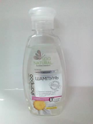 Шампунь з ромашкою та конюшиною для ушкодженого волосся 250мл МК NATURALL , фото 2