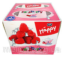 Платочки бумажные Bella baby Happy Универсальные двухслойные Raspberry Малина 40+40 - 80 шт.