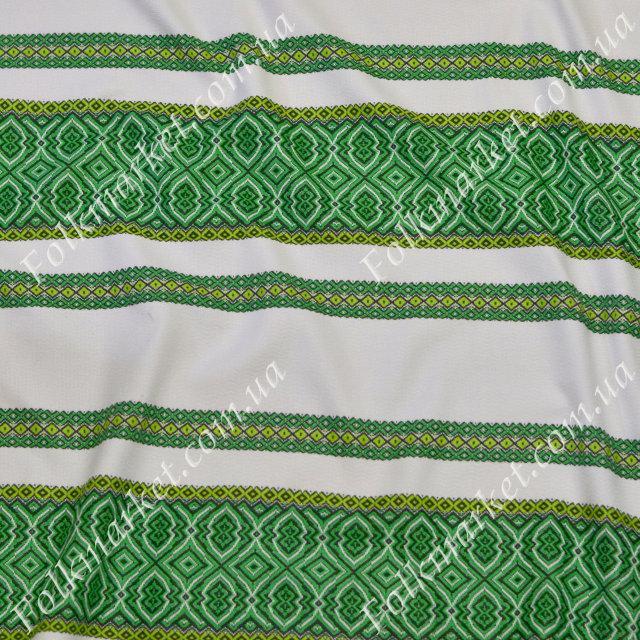 Ткань с украинской вышивкой Говерла ТДК-55 3/4