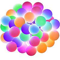 Новогодняя гирлянда, 50 светодиодов, 5 Метров