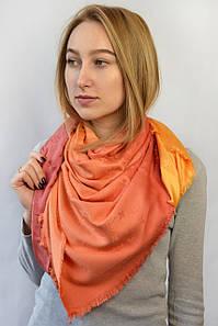Платок Louis Vuitton градиент оранжевый