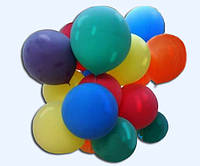 Разноцветные гелиевые шары 30 шт.
