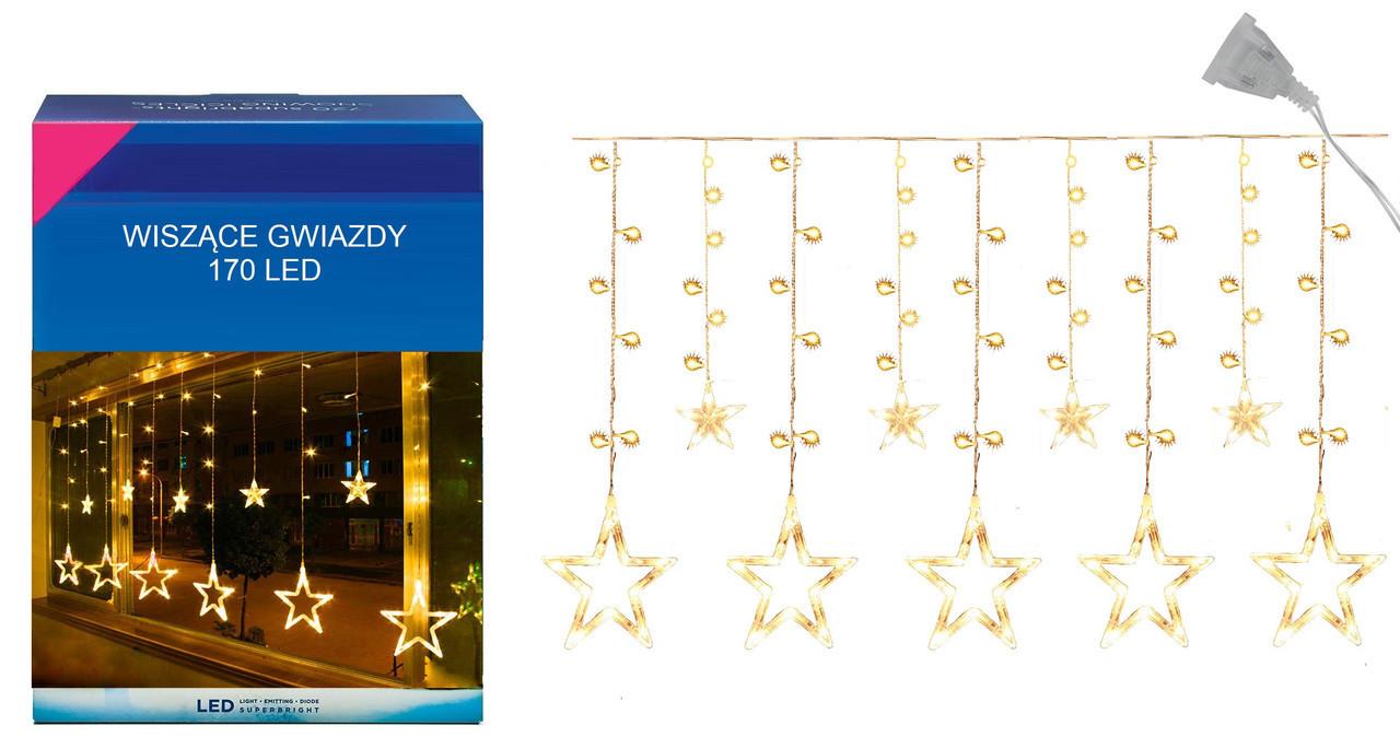"Новогодняя гирлянда ""Звезда"" 170 LED, 3,5 Метра"