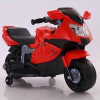 Эл-мобиль T-7215 RED мотоцикл 6V4AH 86*44*52 ш.к. /1/