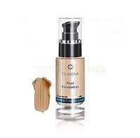 Крем тональный осветляюще-лифтингующий база под макияж для зрелой кожи Clarena (Кларена) Fluid Foundation Lift 30 мл Natural (натуральный)