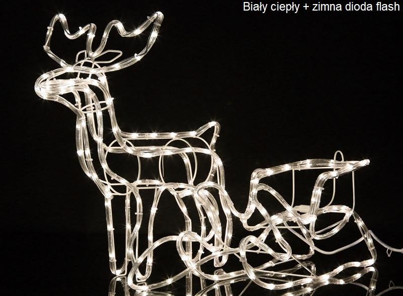 """Новогодняя скульптура """"Олень"""" Длина набора 140 см"""