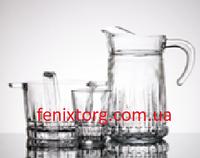 Набор графин с стаканами  в упаковке - 1 шт