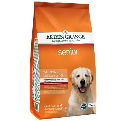 Arden Grange ADULT DOG Senior 12 кг – корм для стареющих собак
