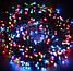 Новогодняя гирлянда 200 LED, IP44, Длина 14 М, Белый холодный свет, фото 2