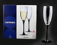 """Набор Бокалов Для Шампанского """"Domino"""" 170мл (H8167)"""