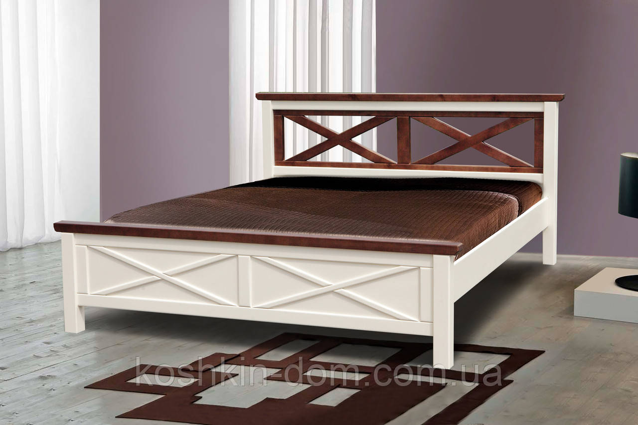 Кровать двуспальная Нормандия 160*200 сосна