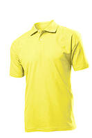 Поло-футболка желтая