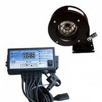 Комплект автоматики для твердотопливного котла Nowosolar PK-22 + турбина NWS-75