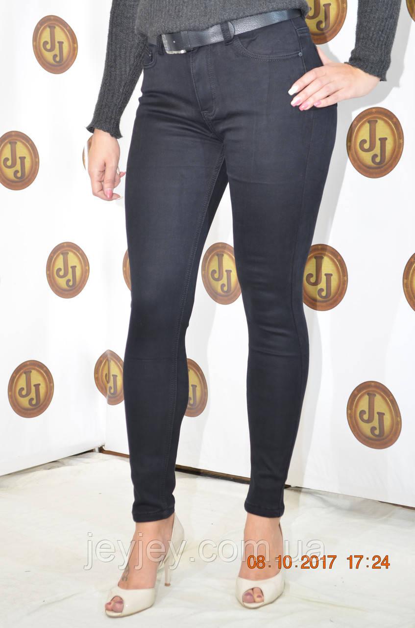36579d1b8f7 Женские утепленные черные джинсы на флисе американка PTA - Интернет-магазин
