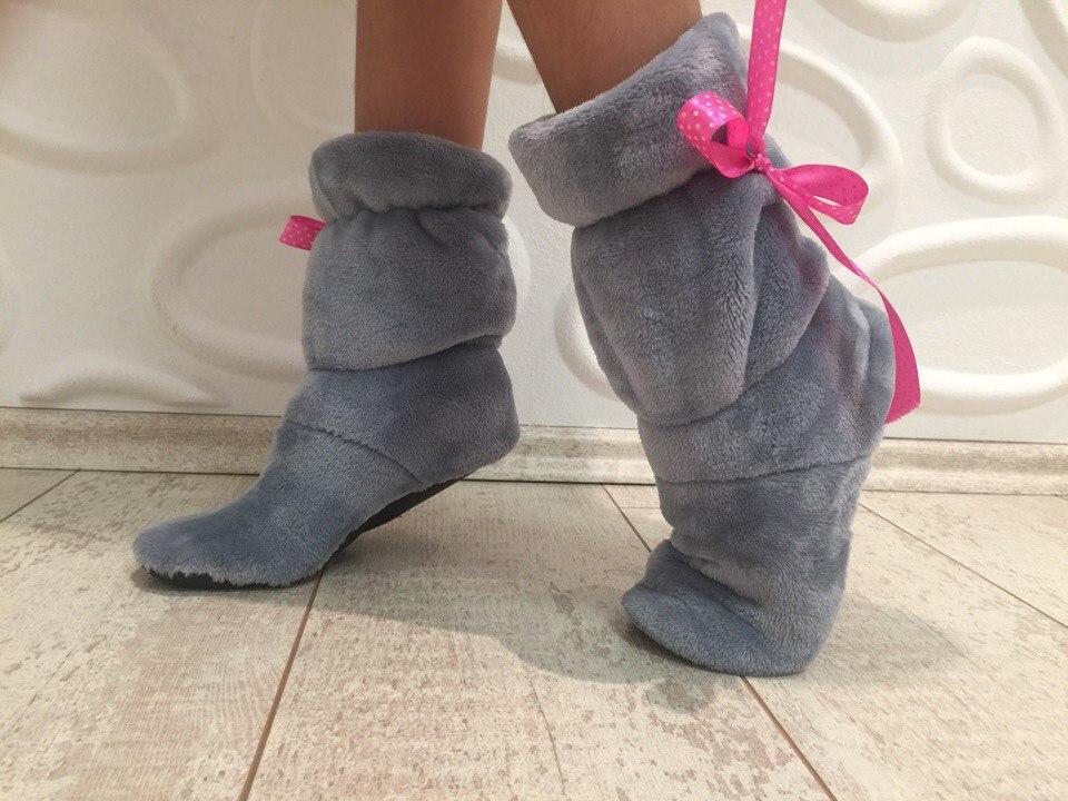 Дитячі тапочкі- чобітки (Детские тапочки- сапожки)