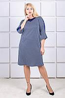 Красивое платье с гипюром размер плюс Янина лапки (52-54)
